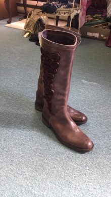 Brown boots, size 9 $89.00